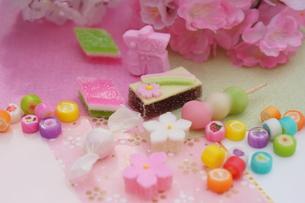 雛菓子の写真素材 [FYI00197139]