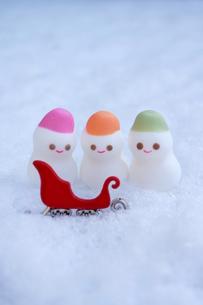 雪だるまの写真素材 [FYI00197336]