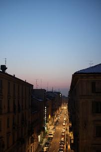 ミラノの夜明けの素材 [FYI00197545]
