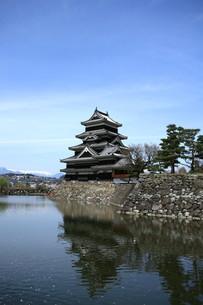 松本城の写真素材 [FYI00197658]