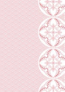 業平菱の地模様に紋章パターンの写真素材 [FYI00197744]
