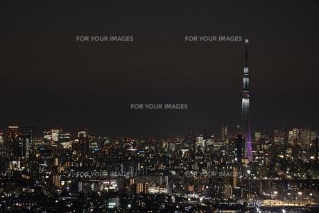 夜景の写真素材 [FYI00197882]