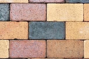 色変わりの煉瓦の写真素材 [FYI00198242]