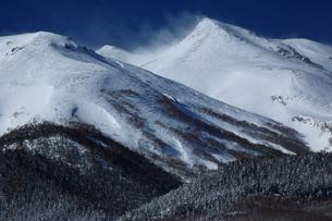 冬の乗鞍岳の写真素材 [FYI00198441]