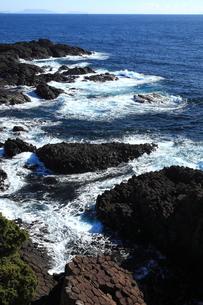 伊豆下田 爪木崎の海の写真素材 [FYI00198463]