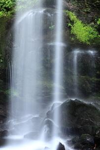 夕日の滝の写真素材 [FYI00198486]