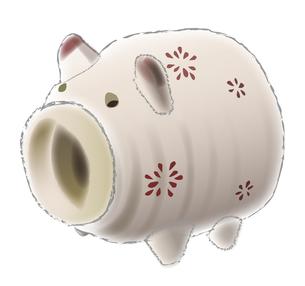 豚の蚊取り線香入れの写真素材 [FYI00198659]