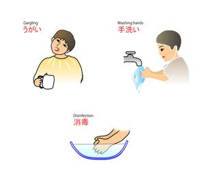 うがい・手洗い・消毒の写真素材 [FYI00198669]
