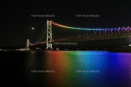 明石海峡大橋の写真素材 [FYI00198734]