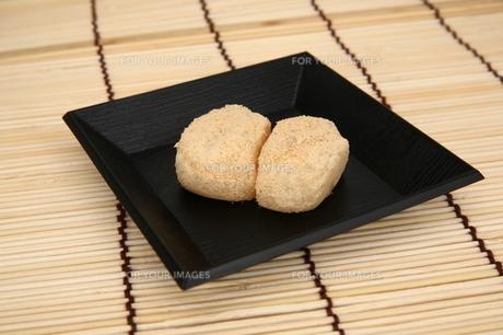 安倍川餅の写真素材 [FYI00198791]