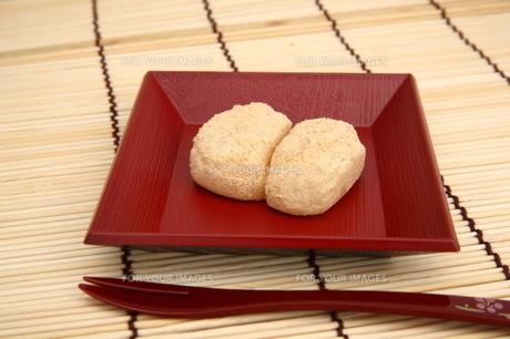 安倍川餅の写真素材 [FYI00198799]