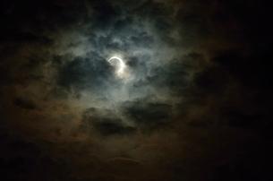 日蝕の写真素材 [FYI00198848]
