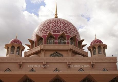 ピンクのモスクの写真素材 [FYI00198982]