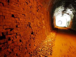 未来へのトンネルの写真素材 [FYI00199747]