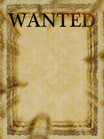 WANTEDの写真素材 [FYI00199774]