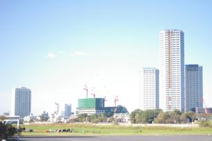 二子玉川ビル建設の写真素材 [FYI00200029]