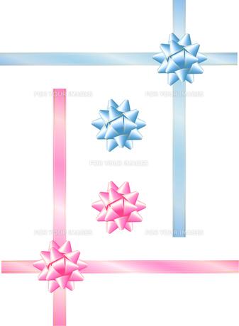 プレゼントのリボンの写真素材 [FYI00200087]