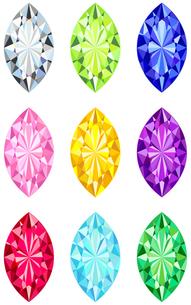 マーキースカットの宝石の写真素材 [FYI00200166]