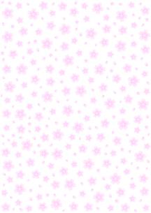 桜の背景模様の写真素材 [FYI00200177]