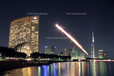 月の橋の写真素材 [FYI00200311]