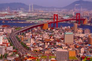若戸大橋の写真素材 [FYI00200346]