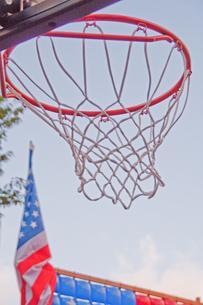 バスケットゴールの写真素材 [FYI00200353]