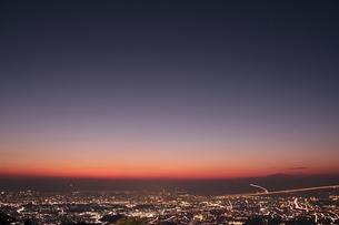 福岡市の夕空の写真素材 [FYI00200408]