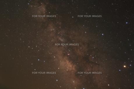 いて座と天の川中心部の写真素材 [FYI00200411]