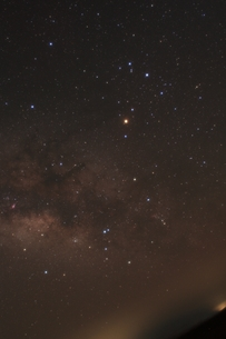 さそり座と天の川の写真素材 [FYI00200425]