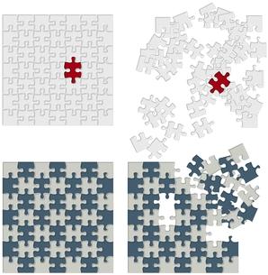 パズルの素材 [FYI00200458]