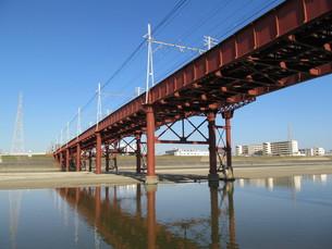 鉄橋の写真素材 [FYI00200731]