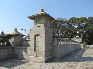 神宮橋の写真素材 [FYI00200774]