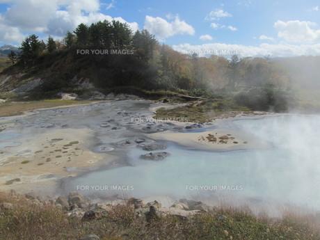 後生掛温泉の大湯沼の素材 [FYI00200843]
