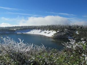八幡平のガマ沼の写真素材 [FYI00200880]