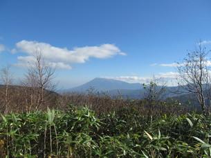八幡平から望む岩手山の写真素材 [FYI00200891]