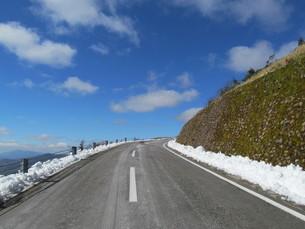 八幡平樹海ラインの写真素材 [FYI00200910]