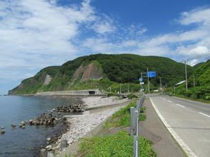 日本海オロロンラインの写真素材 [FYI00200975]