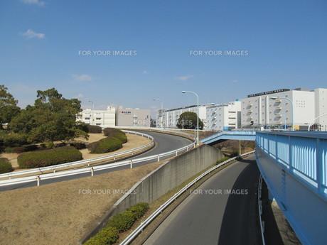 一般道路のインターチェンジの素材 [FYI00201017]