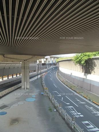 高架下の新大宮バイパスの素材 [FYI00201139]