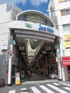 十条銀座商店街の写真素材 [FYI00201164]