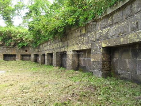 函館山の要塞跡の写真素材 [FYI00201183]