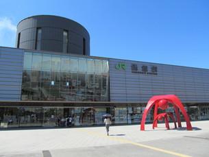 函館駅の写真素材 [FYI00201196]