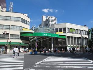 赤羽の商店街の写真素材 [FYI00201197]
