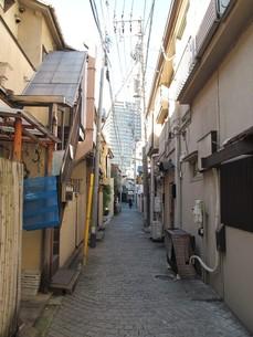 神楽坂のかくれんぼ横丁の写真素材 [FYI00201234]