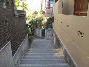 神楽坂の兵庫横丁の写真素材 [FYI00201249]