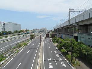 湾岸道路の写真素材 [FYI00201314]