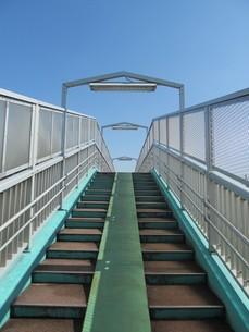 歩道橋の写真素材 [FYI00201397]
