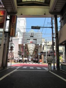 武蔵小山のアーケードの写真素材 [FYI00201399]