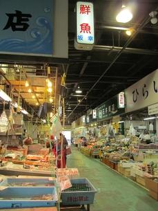 宮古市魚菜市場の写真素材 [FYI00201429]