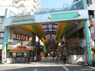 大森の商店街の写真素材 [FYI00201481]
